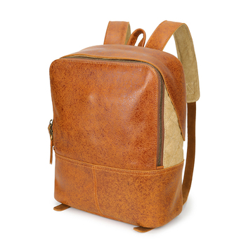 YD-8173 new products genuine crazy horse leather backpack
