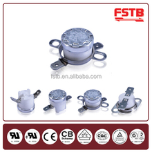 FSTB High Quality KSD301 auto thermostat switch, Coffee machine thermostat, Electric car heater thermostat