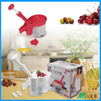 New design best hand crank cherry pitter