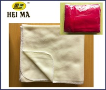 Light cream color polar fleece blanket