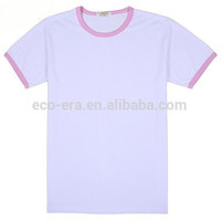 200g 65 Cotton 35 Polyester Color Collar T-shirt , Custom Logo Print , Wholesale Fitness Clothing LOW MOQ Prompt Delivery