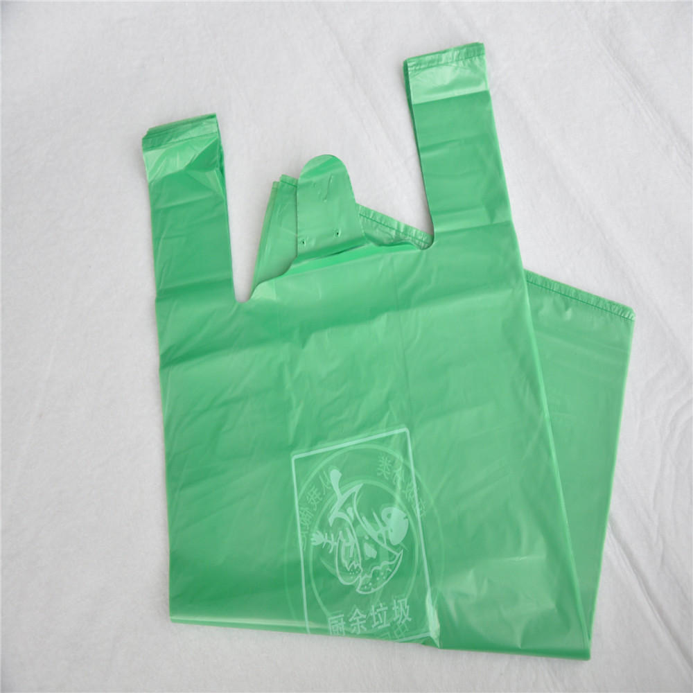 custom t-shirt printing biodegradable kitchen waste bags