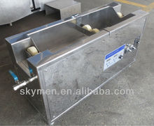 Printing industry use ultrasonic cleaner machine for anilox roller removing oil and ink
