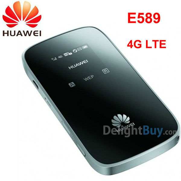 DHL free / HUAWEI E589 100Mbps 3G 4G LTE unlocked Pocket Mobile WiFi Wireless Router hotspot (E586, E587)