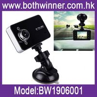 Car black box ,h0t054 multi-function car rearview mirror gps , portable battery operated wireless camera
