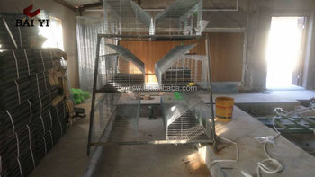 Metal Wire Rabbit Cage Rack Design
