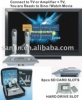 Magic Sing Along Karaoke player+Wireless Digit Microphone+8PcsSD Card Slots+160GB Hard Disk (optional)+download(KOD-100/MK-100)