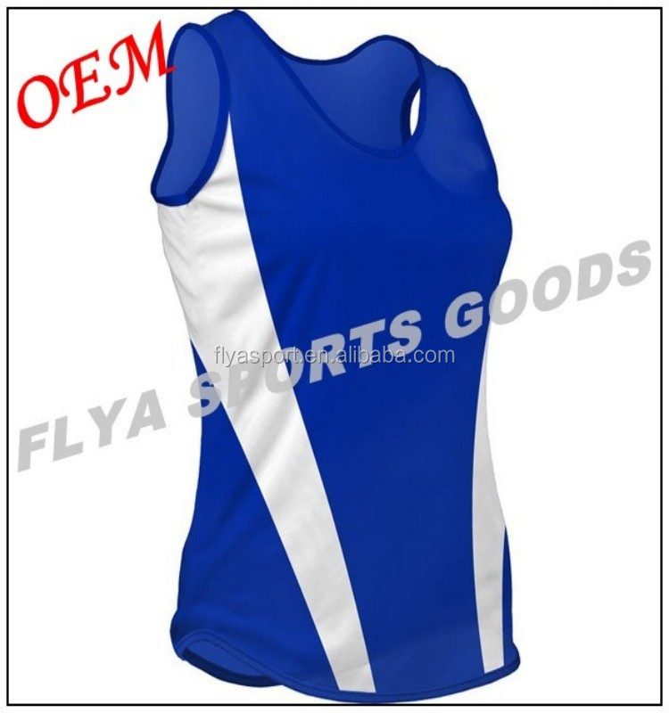 2018 fashion crew neck athletic sleeveless solid Women's running singlet sportswear singlet 100% polyester singlets