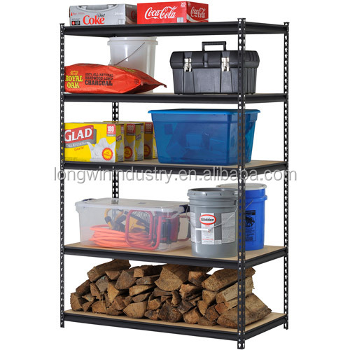 5 Tier DIY Metal Retail Shelving Unit