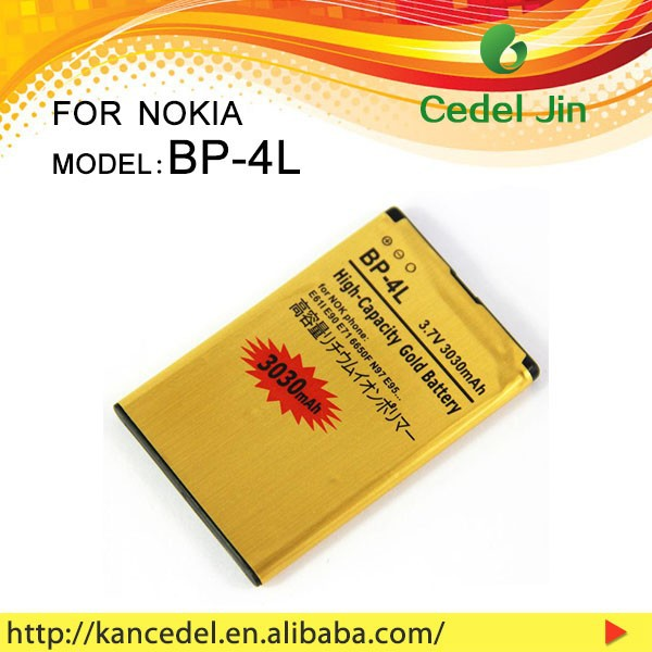 recharge Li-ion battery 3030mah for NOKIA BP-4L mobile phone