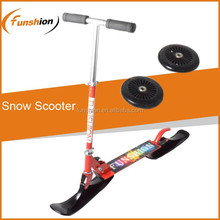 Aluminum snow scooter sled /best snow scooter converts street scooter