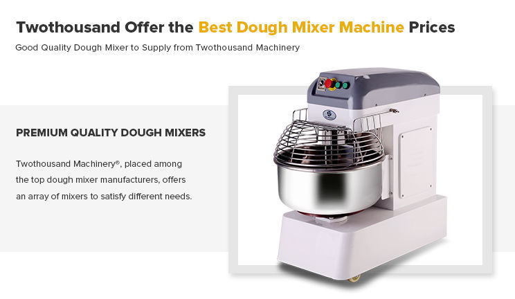 HM40S 45L Double Speed High Quality Bakery Cookies Spiral Dough Mixer