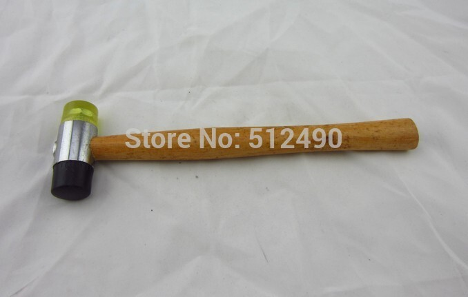 free shipping 1pc/lot goldsmith tool,rubber mallet hammer,gold fiing hammer,jewelry making hammer,DIY hammer handpiece