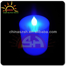 37*34mm Fashion Led Flashing Candles With Multi Color For Party/Christmas