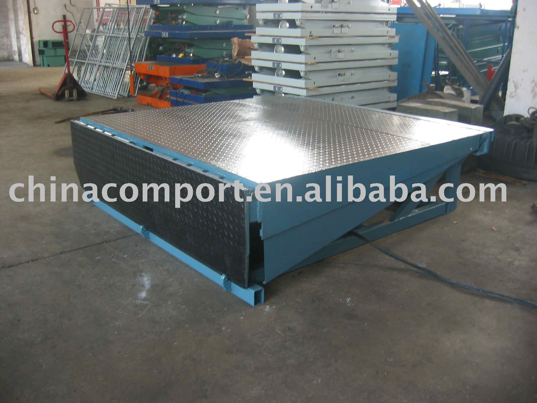 stationary hydraulic dock levelers