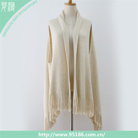 SC-116588 Qianxun acrylic tassel fashion women knitting scarf shawl