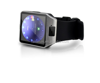 2015 led touch screen gsm smart phone watch and phone