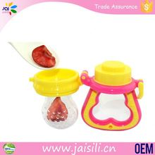 BPA free fresh food rabbit baby fruit and vegetable feeder