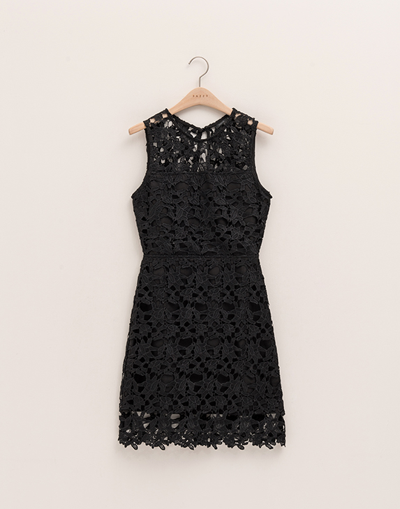oem/odm 2017 Clothing suppliers Sexy Cheap black lace dress for women wholesale