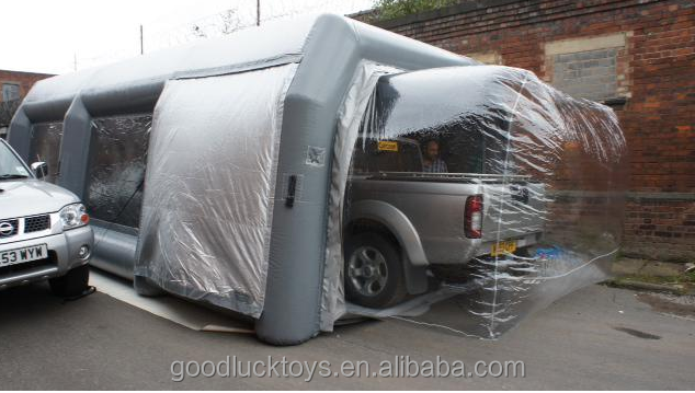 inflatable spray tan tent /inflatable spray booth