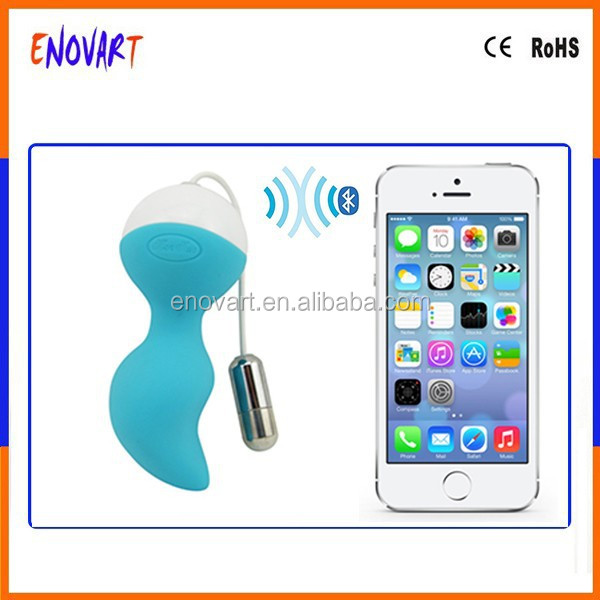 Bluetooth Wireless App Remote Control Vibration/Female Women Masturbation Fun Sex Toys for Smartphone iOS iPhone