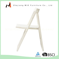 High quality widely use white folding chairs plastic