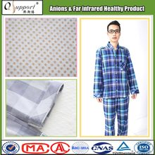 breathable cotton blend fabric pajamas sleepwear for men