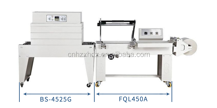 BS-A450+FQL-450A Semi-Auto L Sealer Shrink Machine