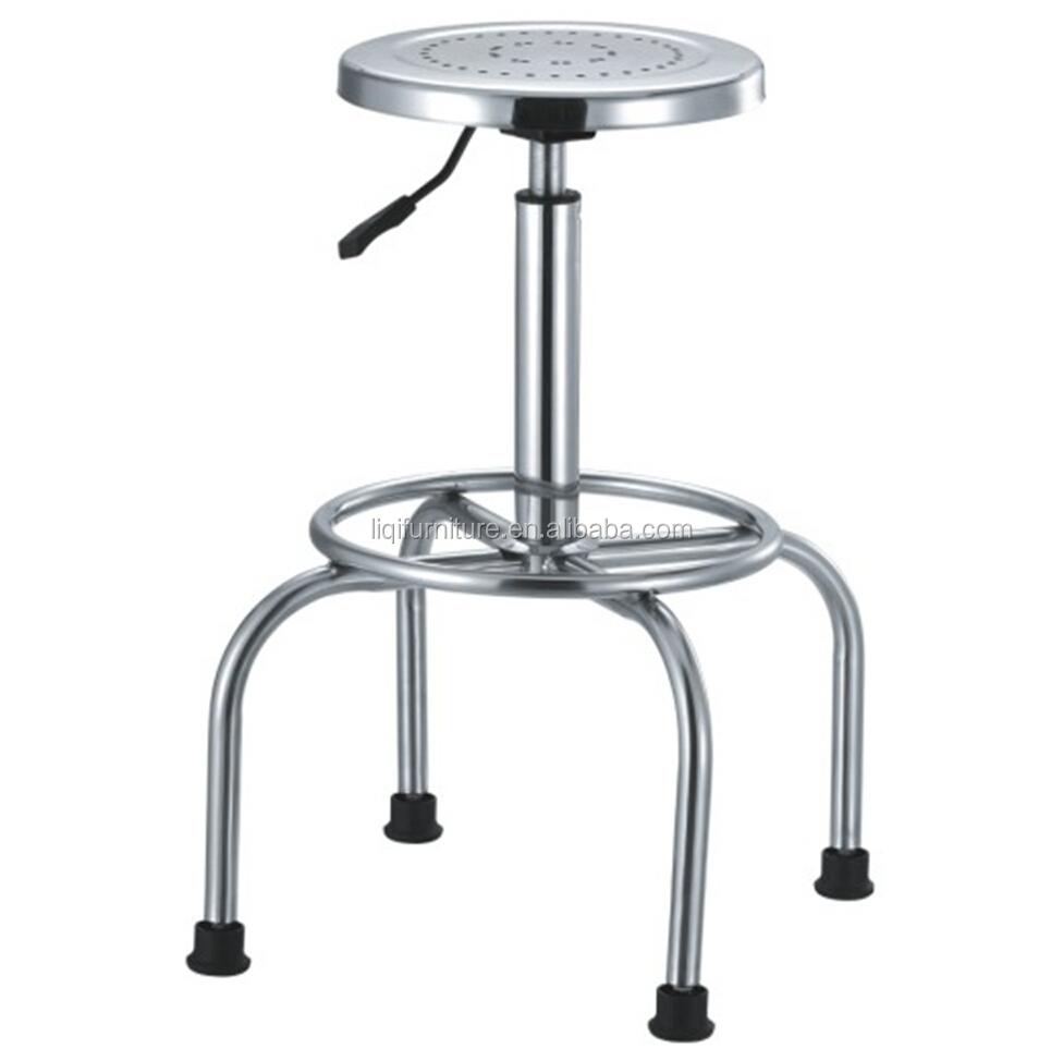 Lab Swivel Stool In Stainless Steel Buy Lab Stool Chair