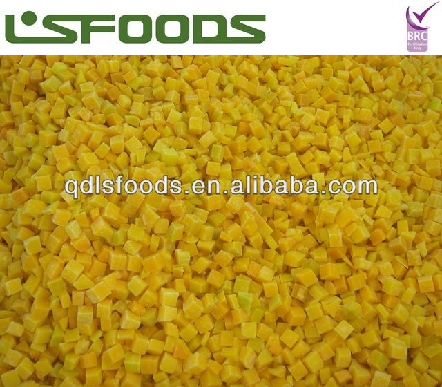Chinese 2013 new crop IQF frozen pumpkin