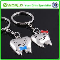 Promotional lovely tooth Shape Key chain,Key ring ,key holder
