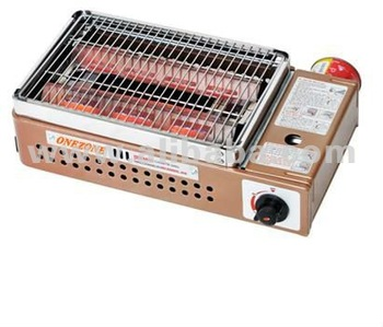 BUTANE GAS PORTABLE INFRARED BBQ GRILL : MODEL TB-24N