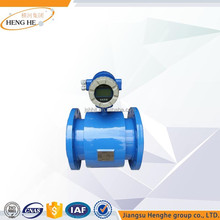 4-20ma output digital water acid electromagnetic flow meter china factory with stainless steel electrode