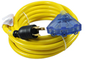 S10349 30Amp Power Cord for 125volt Generator, 25Feet