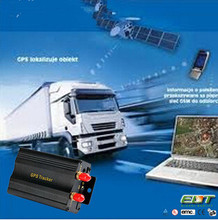 gps 103a vehicle engine immobilizer gps tracker with Fuel sensor , Acc / door alarm