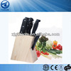 8 PCS Wooden Stand Kitchen Knife Set