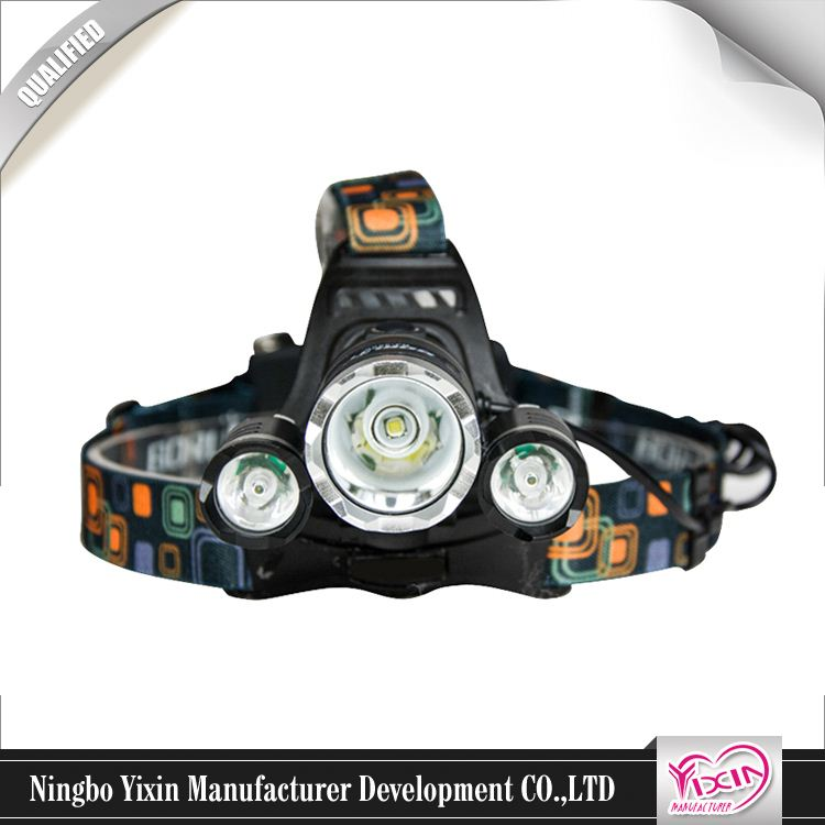 Plastic Led Emergency Bicycle Light Ultra Bright Fashionable High Quality Led Headlight Clip On Hat Light