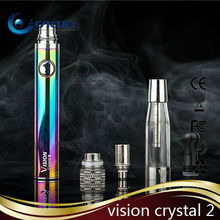 v3+ tank with vision spinner 650mah battery to Vision crystal 2