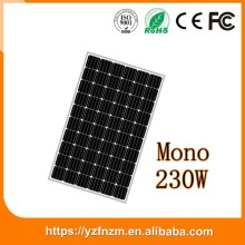 best price in china paneles solares chinos precio 230w poly, solar panel price