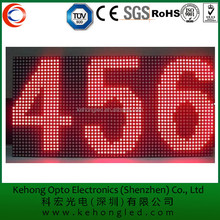 Factory price RS232led screen display red dot matrix led programmable sign display board led sign electronic board