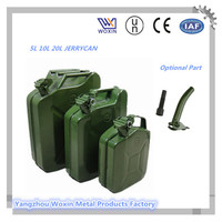 5l/10l/20l potable metal jerry can