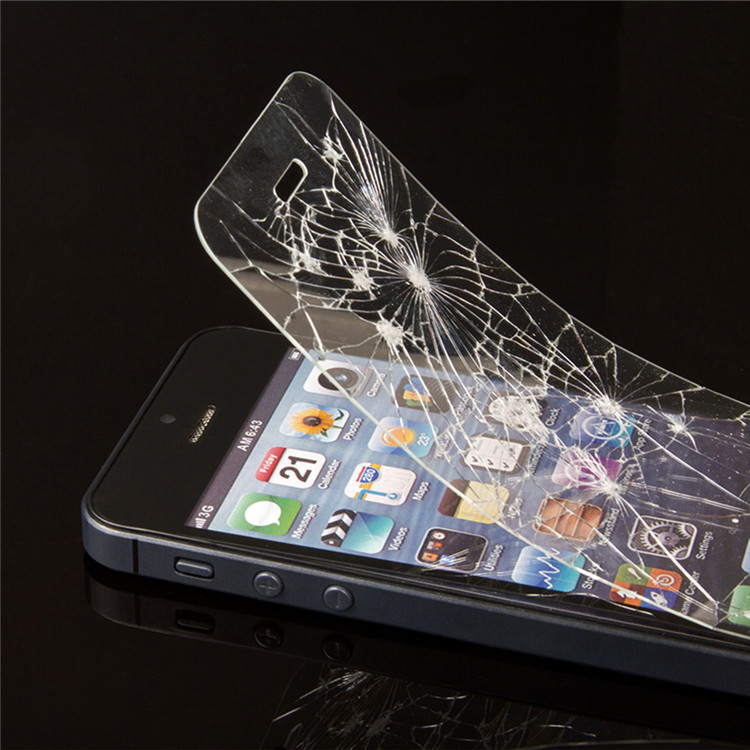 Mobile Tempered Glass Matte Screen Guard Protector for Iphone 5