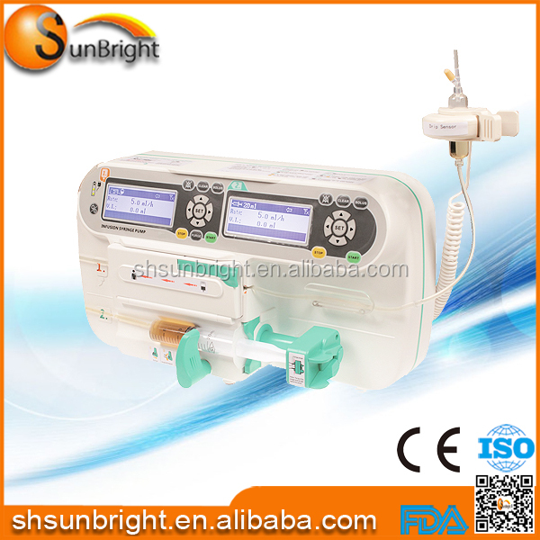 Hot Seller medical Single Channel Syringe Infusion Pump Sun-590