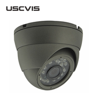 720P vandal-proof ir ip dome camera glass dome for camera
