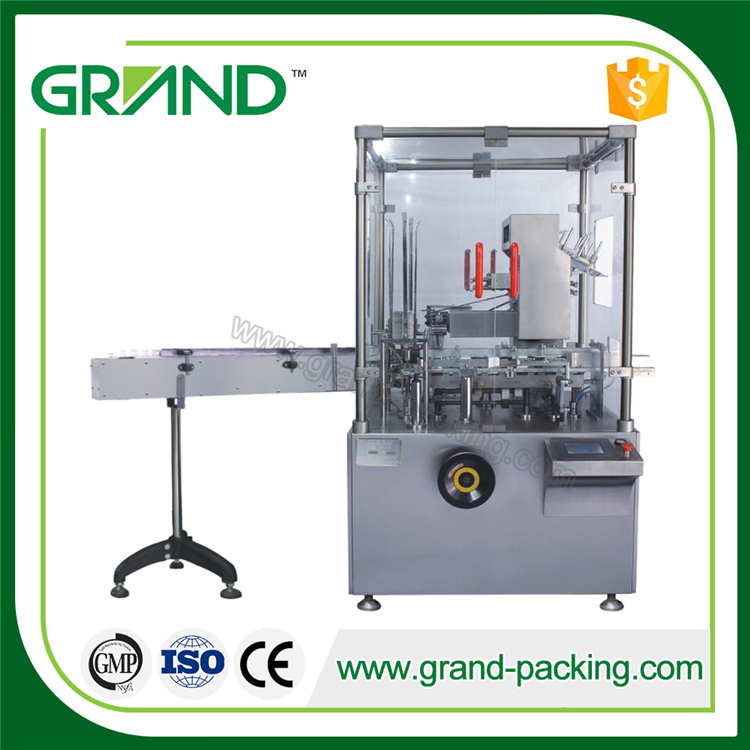 lowest price stainless steel fully automatic rice carton packing machine price