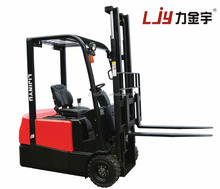 Superior safty and stability 1.2ton mini 3 wheels counter balance electric forklifts