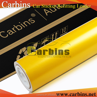 Yellow car body sticker automobile vinyl wrap film