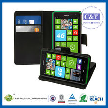 C&T Leather folio ID Credit Card holder pouch case for nokia lumia 625