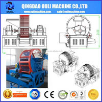 High Technology Advanced Technology Good Quality Used Tyre Tire Grinder