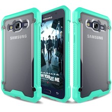 Multi-color/style pc+tpu mobile phone case covers for samsung galaxy j7 j700
